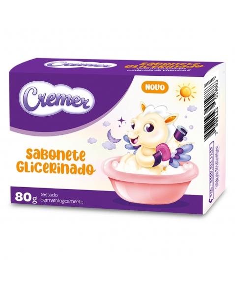 CREMER SAB INF GLICERINADO 80G (72)