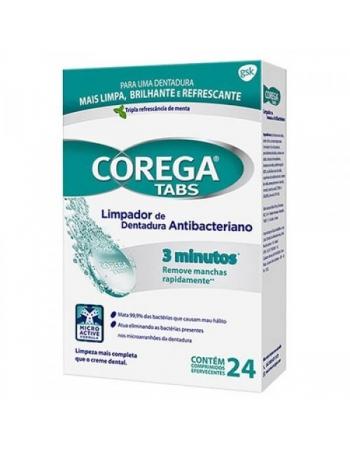 COREGA TABS 24 pastilhas