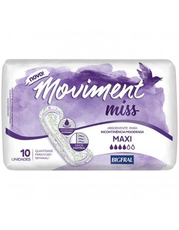 MOVIMENT MISS ABSORVENTE MAXI 10un